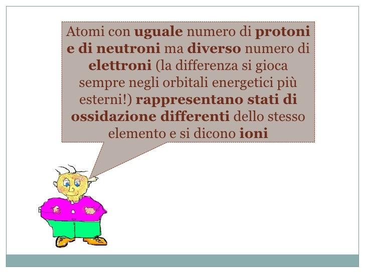 Quando due atomi hanno lo stesso numero di protoni ma diverso numero di neutroni si tratta comunque dello stesso elemento,...