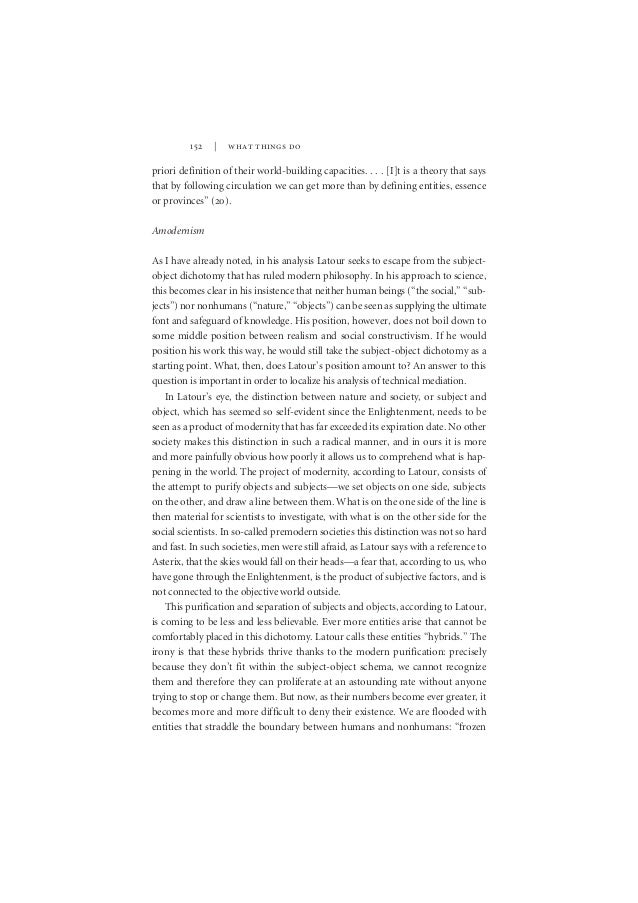 essay on actor network theory In this essay, joseph barton's controversial congressional investigation of the well-known ''hockey-stick'' study of climate change, produced by michael mann, raymond bradley, and malcolm hughes, is analyzed though the critical lens of actor-network theory.