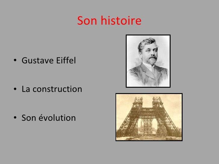 la tour Eiffel Slide 2