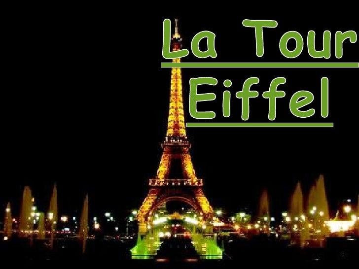 La tour Eiffel estune tour de fer puddlé de      324 mètres de hauteur située à Paris, àl'extrémité nord-ouest duparc du C...