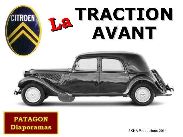 TRACTIONTRACTION AVANTAVANTLaLa 5KNA Productions 2014
