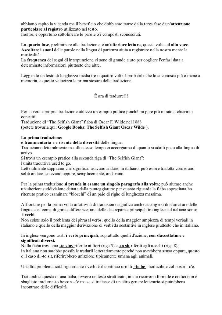 La traduzione letteraria for Traduzione da inglese a italiano