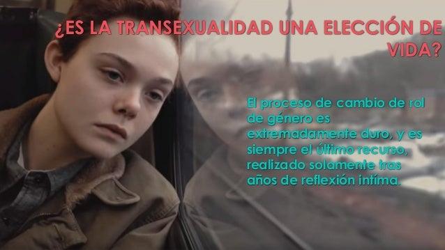 LA TRANSEXUALIDAD
