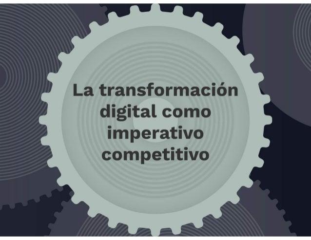 La transformación digital como imperativo competitivo