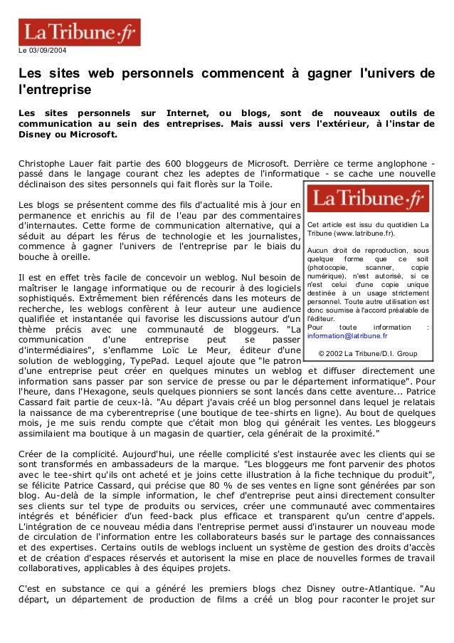 Cet article est issu du quotidien La Tribune (www.latribune.fr). Aucun droit de reproduction, sous quelque forme que ce so...