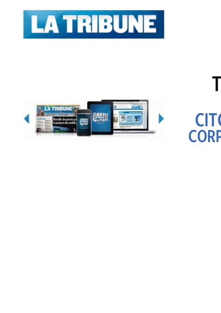 Tarifs 2012   PUBLICITÉCITOYENNE &CORPORATE RH