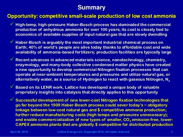 haber bosch process The haber-bosch process was invented by two german chemists in the early 20th century.