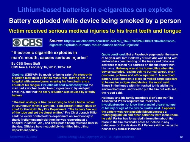 Child S Battery Car Injuries