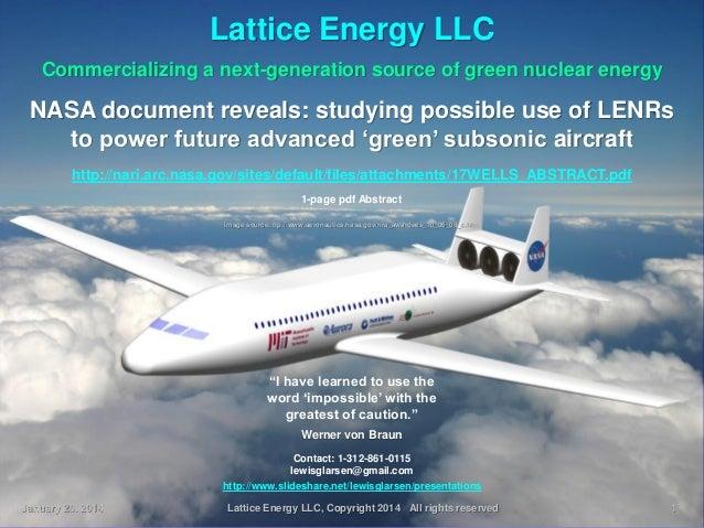 Lattice Energy LLC - NASA Project Document- Are ...