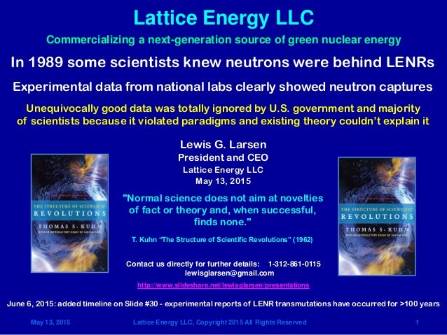 May 13, 2015 Lattice Energy LLC, Copyright 2015 All Rights Reserved 1 Lattice Energy LLC Contact us directly for further d...