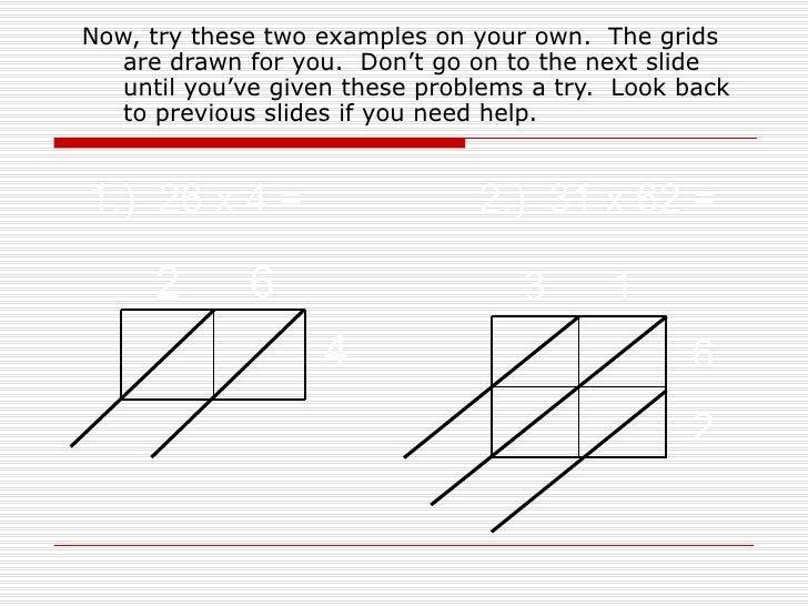 Lattice Multiplication – Blank Lattice Multiplication Worksheets