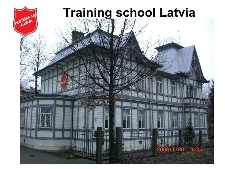 Training school Latvia