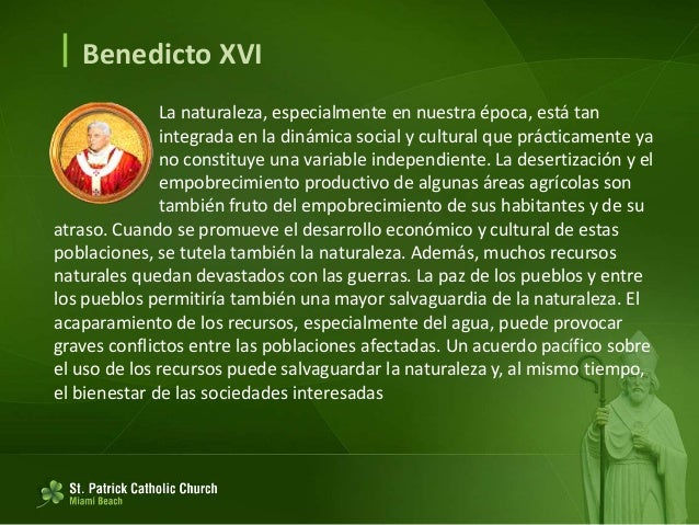  Benedicto XVI Recuerdo un fenómeno de la historia política reciente, esperando que no se malinterprete ni suscite excesi...