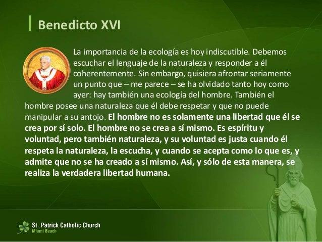  Benedicto XVI El Redentor es el Creador, y si nosotros no anunciamos a Dios en toda su grandeza, de Creador y de Redento...