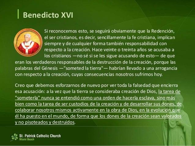  Benedicto XVI Si pensamos en lo que ha surgido en torno a los monasterios; si vemos cómo en esos lugares han surgido y s...