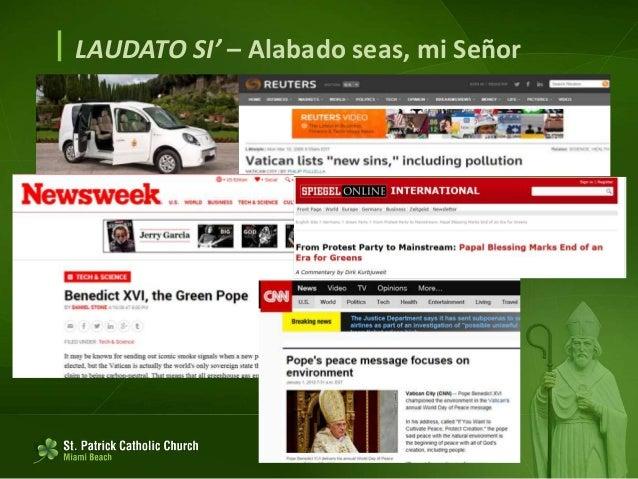 LAUDATO SI' (español) Slide 2
