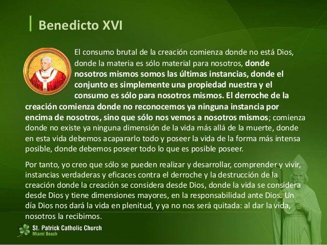  Benedicto XVI Así, yo creo que debemos esforzarnos con todos los medios que tenemos por presentar la fe en público, espe...