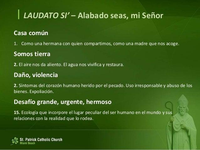 LAUDATO SI' (español) Slide 3