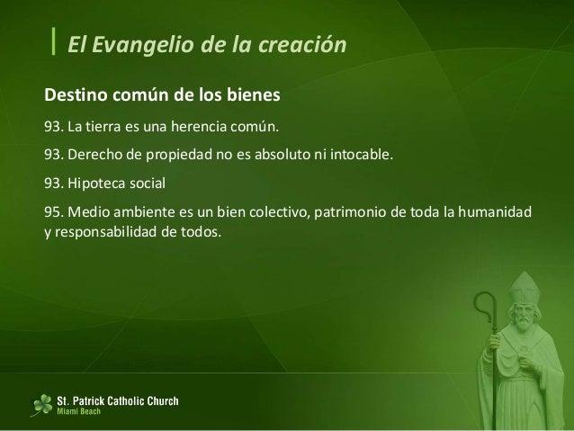  El Evangelio de la creación La mirada de Jesús 96. Dios es Padre. 96. El Sermón de la Montaña. Mateo 6. 97. Atención a l...