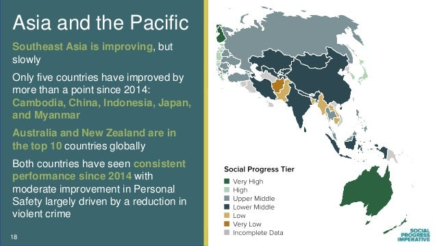 Asia and the Pacific Southeast Asia is improving, but slowly Only five countries have improved by more than a point since ...