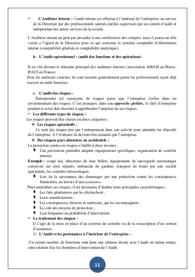 L Audit Comptable Et Financier