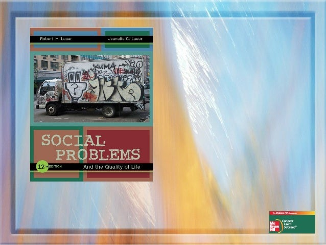 Chapter One    Understanding   Social Problems
