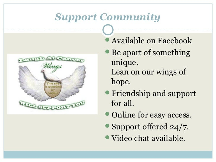 Support Community       Available on Facebook       Be apart of something        unique.        Lean on our wings of    ...