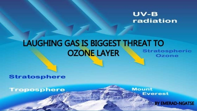 LAUGHING GAS IS BIGGEST THREAT TO OZONE LAYER BY EMERAD-NGATSE