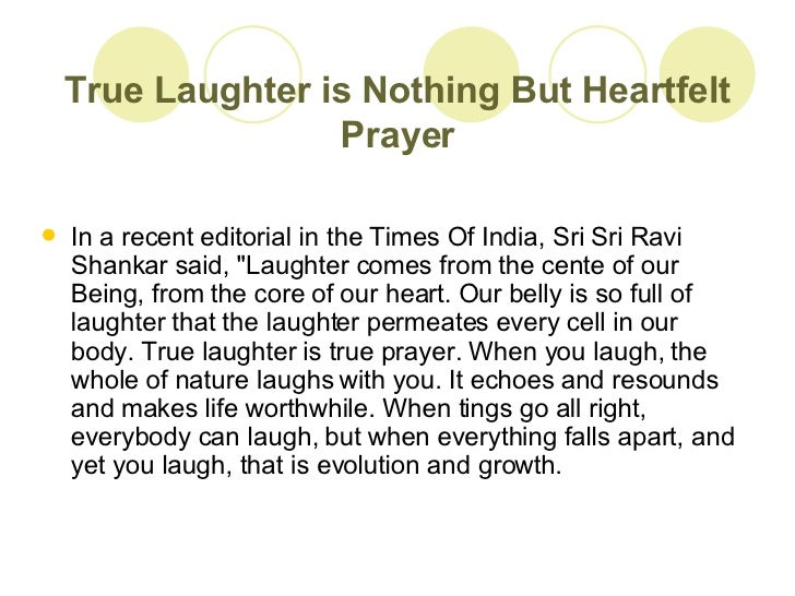 laughter is the best medicine 6 true laughter