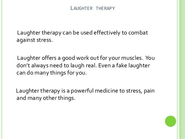 how to become a laughter therapist