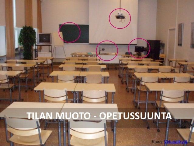 TILAN MUOTO - OPETUSSUUNTA Kuva: Virtuaalikylä