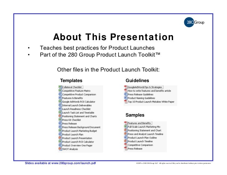 How To Run A High Impact Product Launch