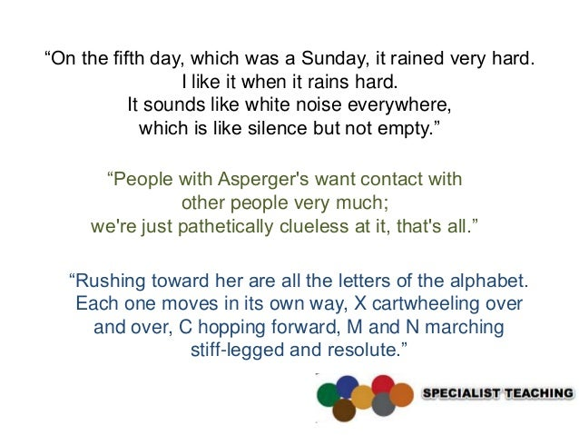 """On the fifth day, which was a Sunday, it rained very hard.                  I like it when it rains hard.           It so..."