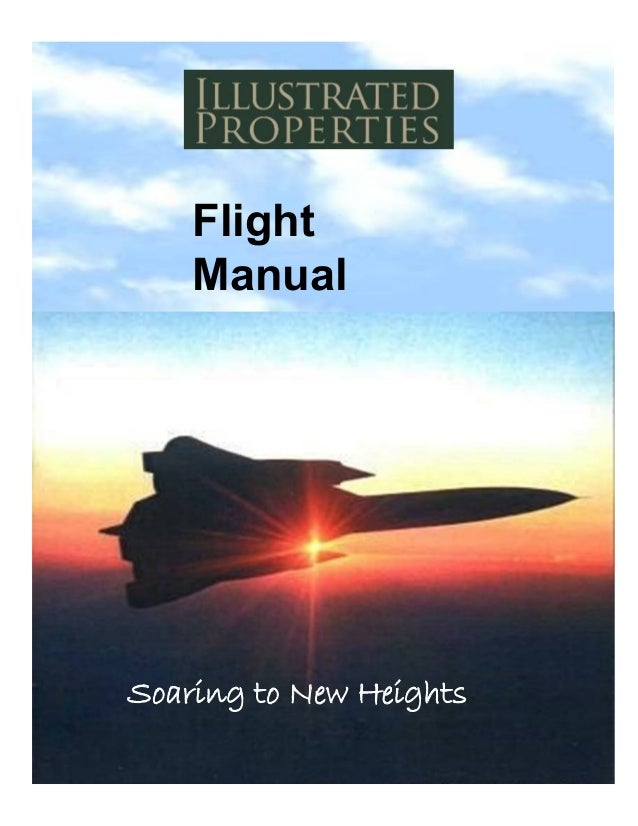 Flight Manual Soaring to New Heights