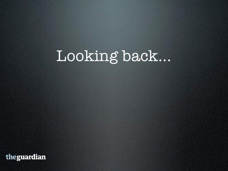 1995 - Guardian          online   1996-98 - New      Media Lab