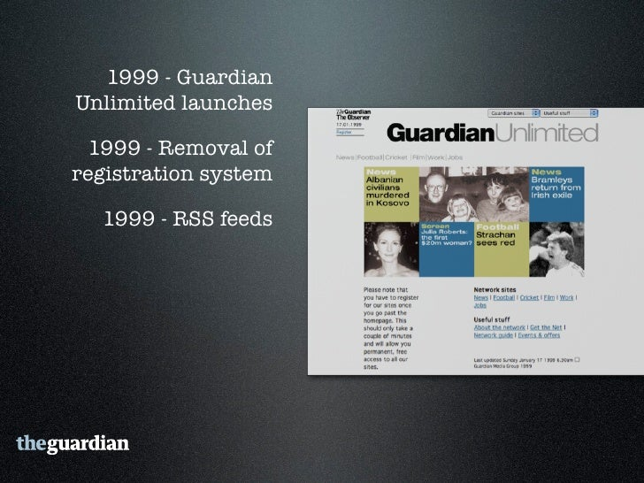 """2006 - Guardian Technology's  """"Free Our Data"""" campaign"""