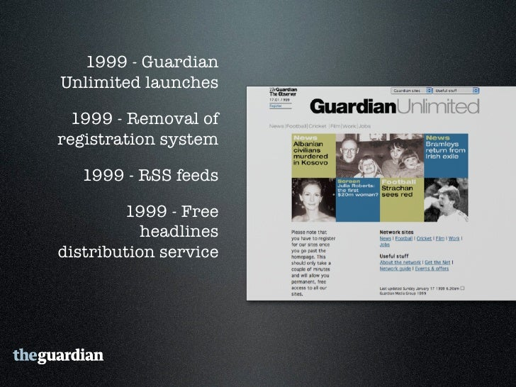 """2006 - Guardian Technology's  """"Free Our Data"""" campaign     2006 - Comment is free"""