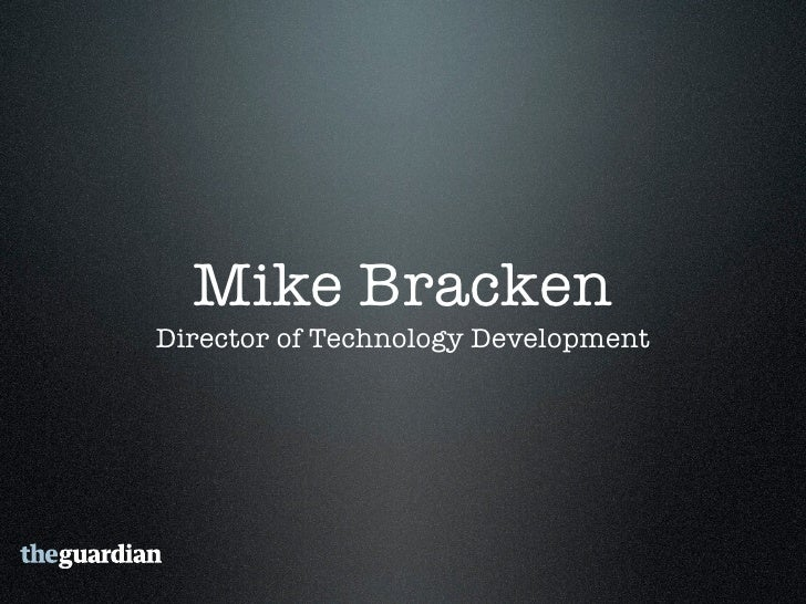 Embracing innovation   • Integration of technology into the   business • Opening up how we work with people   both interna...