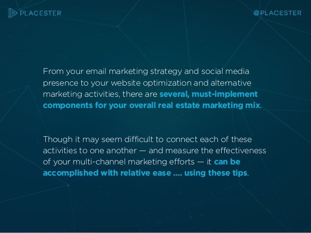The 5 Steps to Launching Your Real Estate Marketing Plan Slide 3