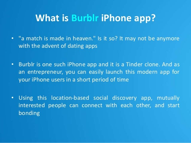 Dating apps for iphone like tinder