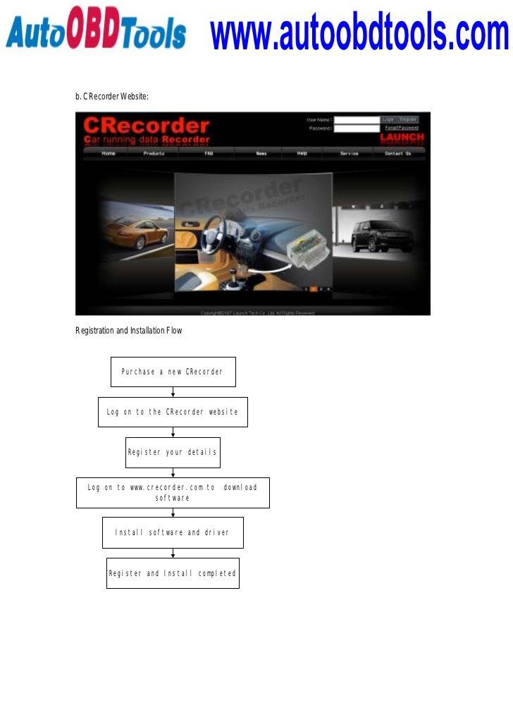 Launch C Recorder II
