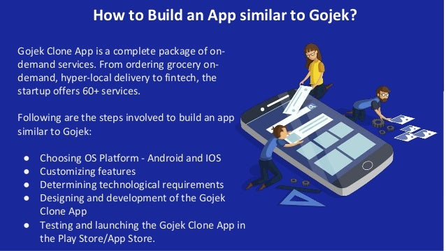 How to Build an App similar to Gojek? Gojek Clone App is a complete package of on- demand services. From ordering grocery ...