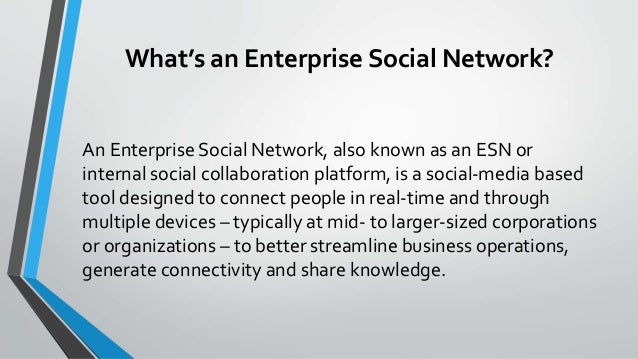 Employee collaboration in a digital universe: The rise of the Enterprise Social Network Slide 2
