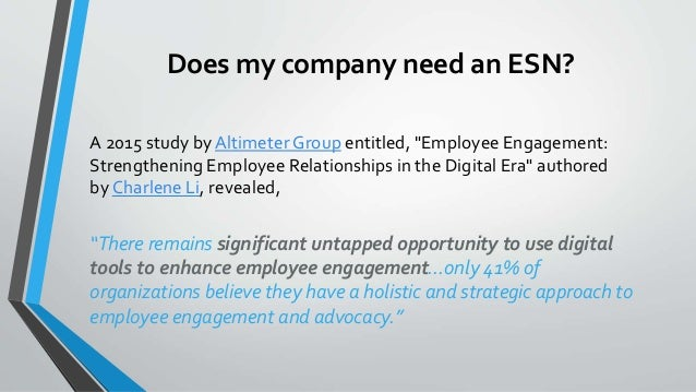 Employee collaboration in a digital universe: The rise of the Enterprise Social Network Slide 3