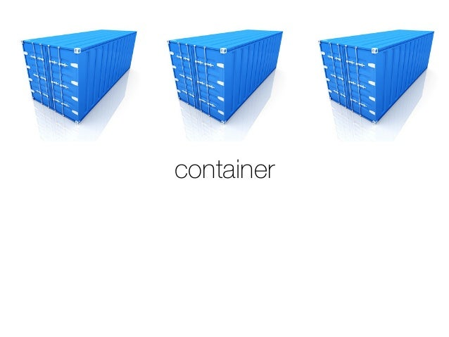 Launching containers with fleet Slide 3