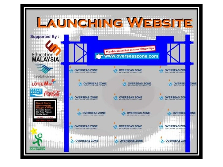 Launching website