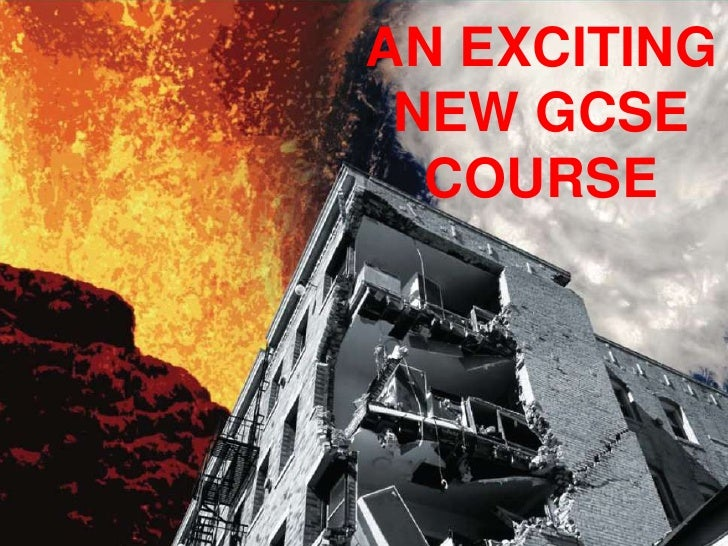 AN EXCITING NEW GCSE COURSE<br />