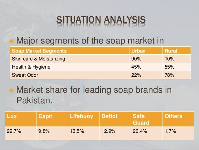 safeguard soap swot anylisis Ibisworld's soap & cleaning compound manufacturing industry research report offers insight into the market at the national level our analysis highlights macro trends in the overall sector and the micro trends faced by companies that do business in the soap & cleaning compound manufacturing industry.