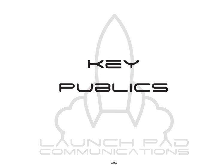 Launch Pad Communications Plan Book