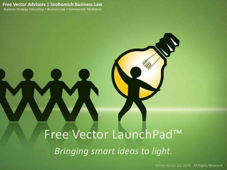 Free Vector Advisors | Snohomish Business Law<br />Business Strategy Consulting • Business Law • Commercial  Mediation<br ...